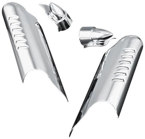 NEW Kuryakyn Chrome ROAD KING FREE SHIP Lower Leg Deflector Shields 7768