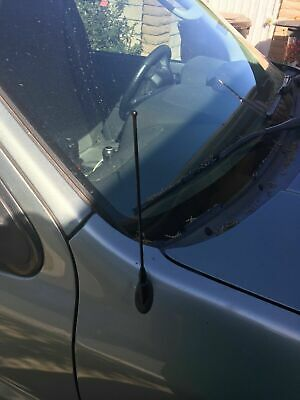 """2001-2012 Ford Escape 13/"""" Black Stainless AM FM Antenna Mast FITS"""
