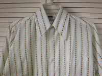Vintage Montgomery Ward Calico Shirt Size 15-334 Excellent