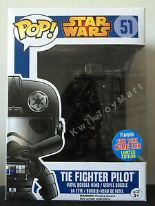 Funko-POP-Vinyl-STAR-WARS-NO-51-Tie-Fighter-Pilot-NYCC-Limited-Edition-RARE