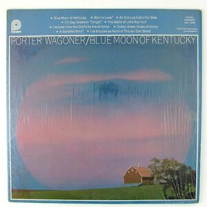 PORTER-WAGONER-Blue-Moon-Of-Kentucky-LP-NM-NM