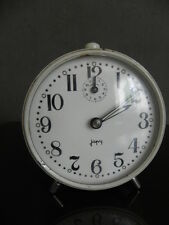 vintage clock alarm japy retro desk  Art Deco design FASHION pop Mechanics uhr
