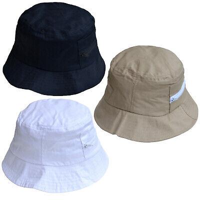 Gli Adulti Cappello Pescatore Cotone, Con Tasche-mostra Il Titolo Originale