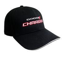 Dodge Charger Black Baseball Cap Hat