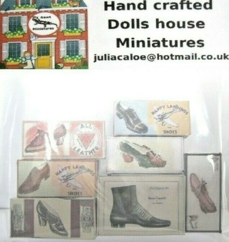 Cajas De Zapatos Para La Casa De Muñecas
