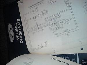 1994 LINCOLN CONTINENTAL ORIGINAL WIRING DIAGRAMS MANUAL ...
