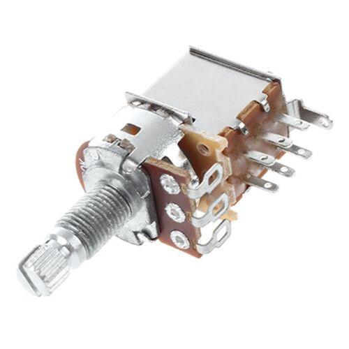A500k Push Pull Gegentaktgitarren Steuerknueppel Drehwiderstand//Lineares D R9 1X