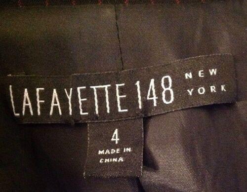 Blazer nero 148 gessato Lafayette Blazer Lafayette 148 148 Lafayette gessato nero qHw8vH
