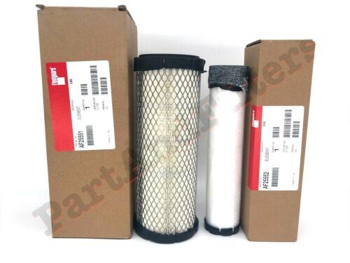 Fleetguard AF25551 /& AF25552 Air Filter Set P821575 /& P822858