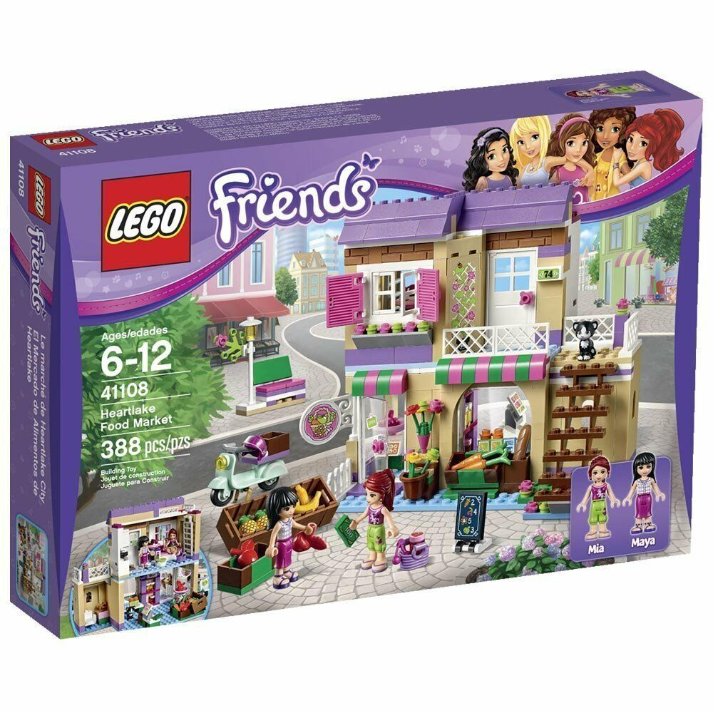 Lego Friends 41108 Heartlake Lebensmittelmarkt Nuevo Embalaje Original Misb