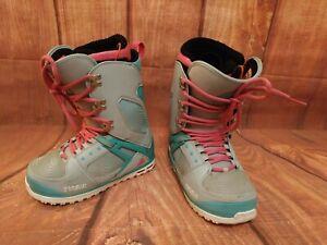 WOMEN-039-S-Snowboard-Stivali-Taglia-5-5-THIRTYTWO-TM-2-London-977