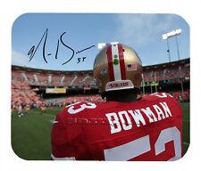 Item#2566 NaVarro Bowman San Francisco 49ers Facsimile Autographed Mouse Pad