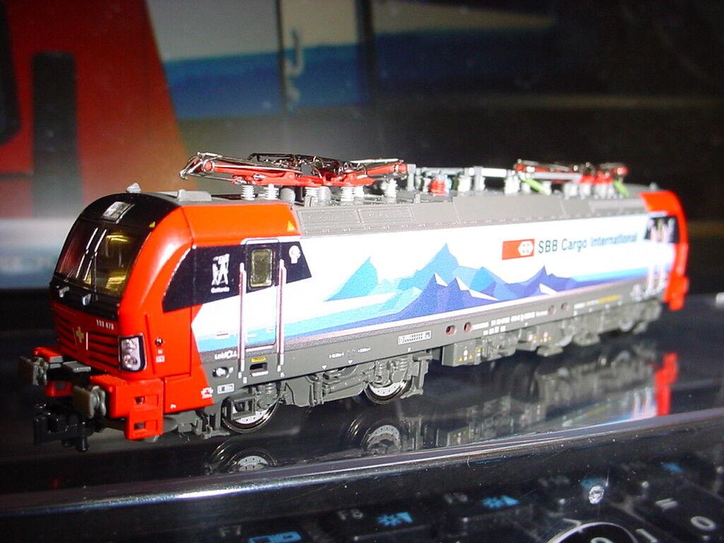 Fleischmann n 739304 Vectron br 193 478 SBB Cargo época vi nuevo embalaje original