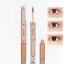 Base-Doble-Cabeza-Cara-corrector-liquido-para-Completo-Cubre-Ojeras-Ojo-Maquillaje miniatura 3