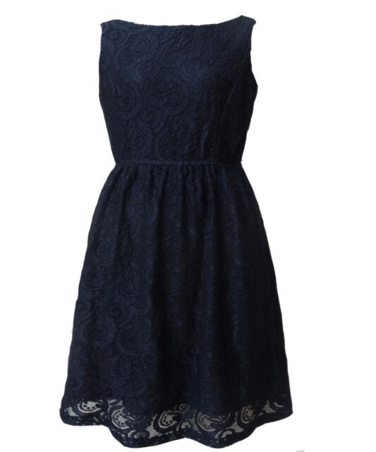 Women Cocktail Black Lace Boat Neck Race Party Dress Size 16 18 20 NEW plus size