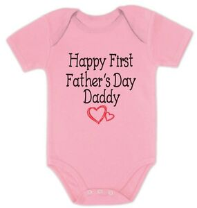 happy first father s day daddy gift for new dads cute baby bodysuit