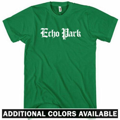 Kids XS-4XL Echo Park Gothic LA T-shirt Men Central Los Angeles California