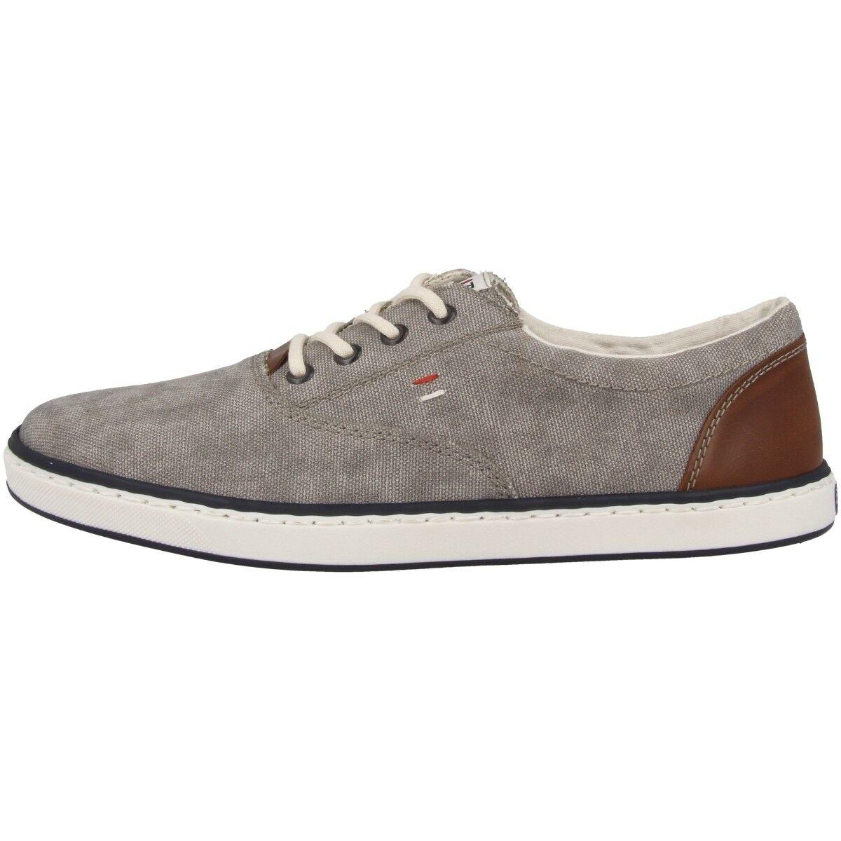 Rieker Canvas Bologna Men ´S shoes Men's Leisure Sports Trainers Grey 19650-40