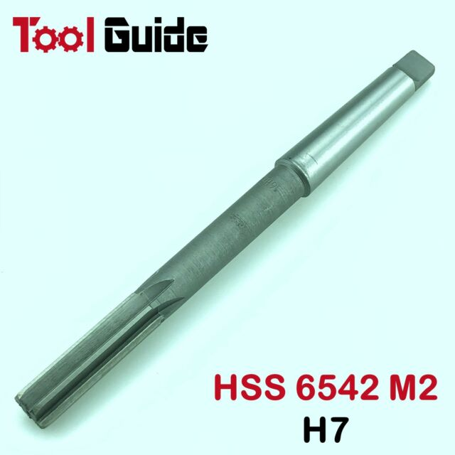12mm-30mm HSS M2 Morse Taper #1-3 Shank Reamer H7 Machine High Speed Steel MT1-3