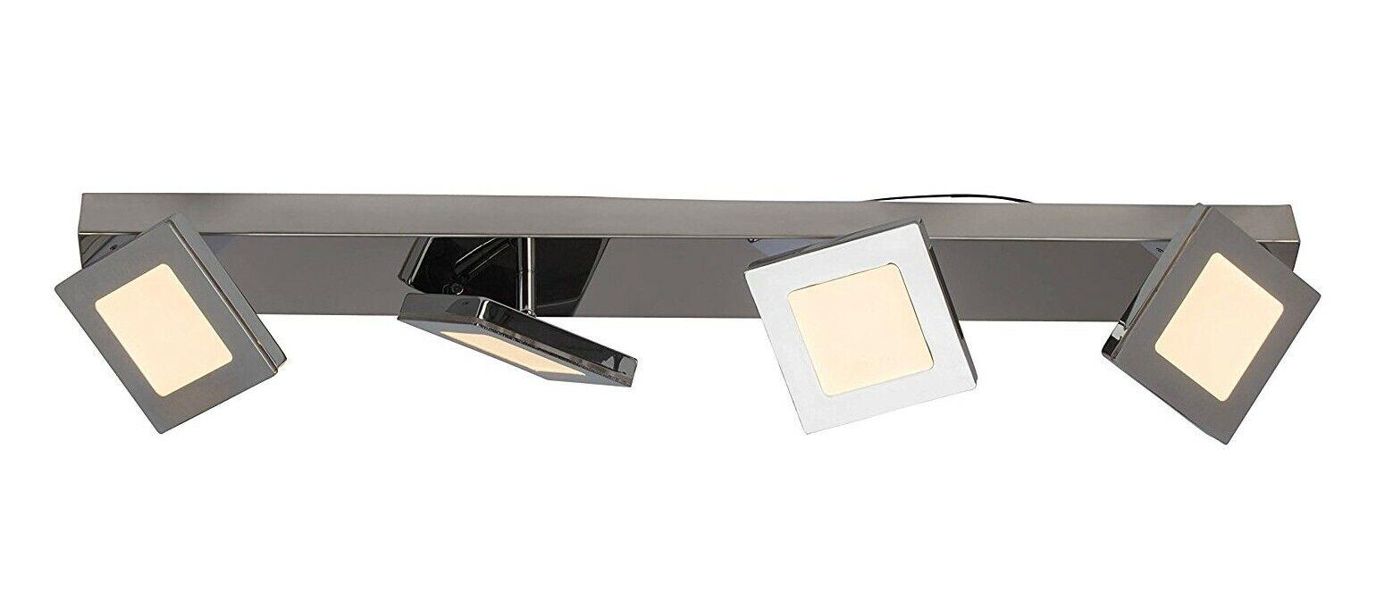 LED Deckenlampe Deckenleuchte Strahler 24 Watt 1350 Lumen bewegl. Spots dimmbar