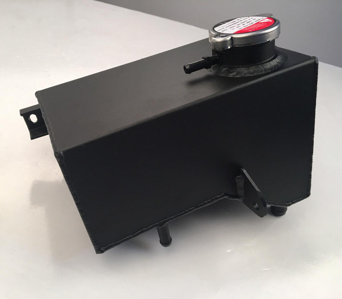Aluminum Coolant Expansion Header Tank For Land Rover Defender 300TDI Black
