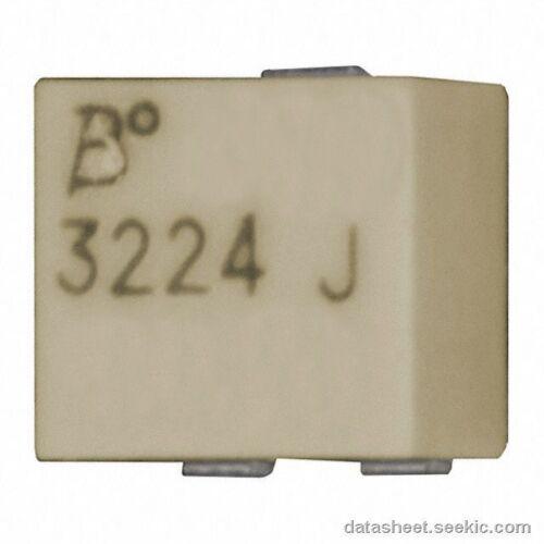 BOURNS 3224J-001-101E SMD SMD POTENTIOMETER 100 OHM NEW-QTY-10