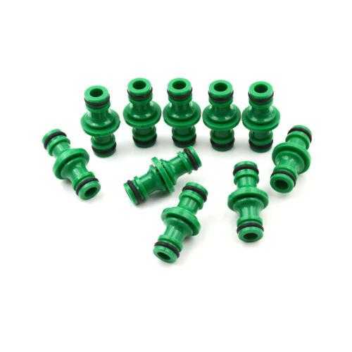 5Pcs 1//2 Water Hose Connector Quick Connectors Garden Tap Joiner Joint ToolDP