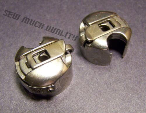 2pc BOBBIN CASE # 55237 Singer 95 /& 96 Class Alt#s CM34961 2110104-301B