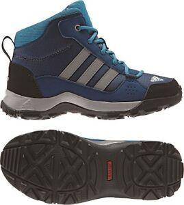 15f35ca659d524 Das Bild wird geladen Adidas-Schuhe-Hyper-Hiker-Mid-Stiefel-Outdoor-Kinder-