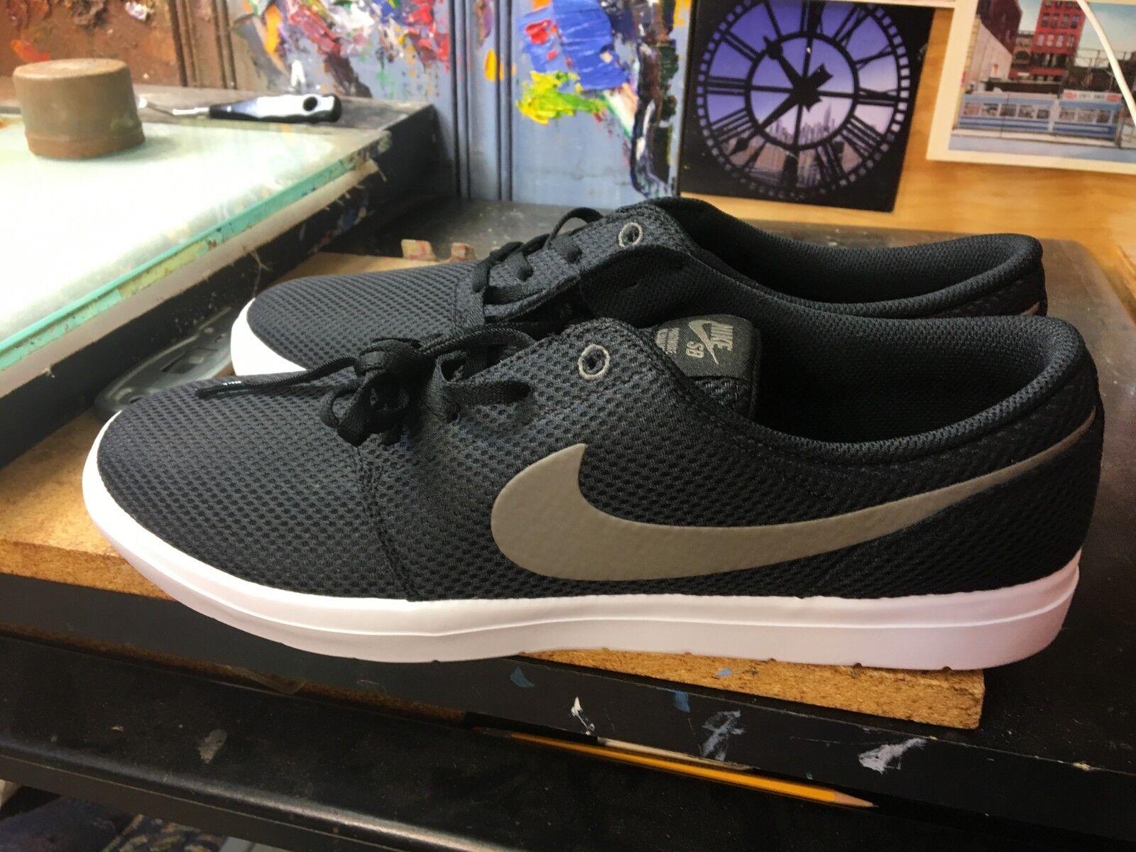 Nike SB Portmore II Ultralight Black Ridgerock-White Size US 13 Men's 880271 021