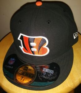 1ba4baaad82eaa New Era Hat NFL Cincinnati Bengals Black On Field 5950 BENGALS Team ...