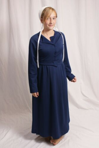 Amish Woman's Costume Basic Outfit Dress Apron cap