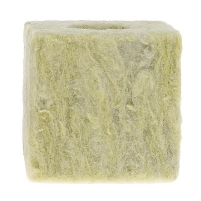 Rockwool Cubes Hydroponic Grow Media Soilless Planting Cultivation Compress Base