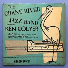 The Crane River Jazz Band - Ft. Ken Colyer - Eh La Bas - EPM7-59 VG+