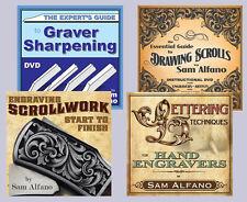 Sam Alfano's Metal Engraving Workshop (4 DVD Set)