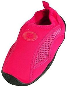 NEW SizeUS 3 StarBay Aquatic Pool Beach Surf Adjustable Slip On Shoes Color Pink