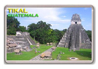 TIKAL GUATEMALA FRIDGE MAGNET SOUVENIR IMÁN NEVERA