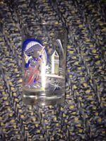 Disneyland Mug Cup Glass Mickey Vtg Fantasia Mickey France
