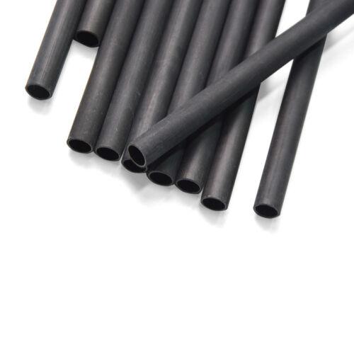 """30/"""" Archery Pure Carbon Arrows Shaft SP340 ID6.2 DIY Recurve Compound Bow"""