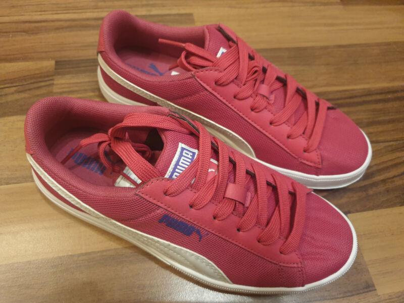 +++ Puma Kinderschuhe Sportschuhe Farbe Pink GrÖße 23 Neu Ungetragen ++++