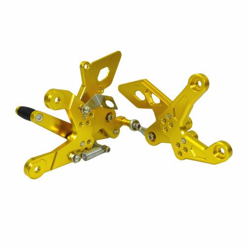 Adjustable Rearset Footrests Foot Peg For HONDA CB 500 F//X CB500F CB500X CBR500R