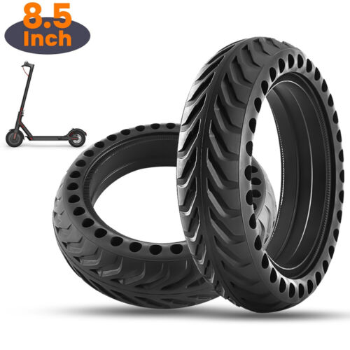 8.5/'/'Upgrad Tyre Solid Hollow Tires Wheel For Xiaomi Mijia M365 Electric Scooter