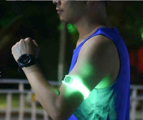 High Qualität Reflective LED Armband Flashing Static Road Safety Running Cycling