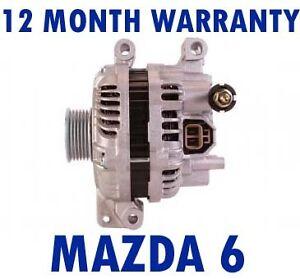 MAZDA 6 - (GG) 1.8 2.0 2.3 AWD STATION WAGON 2002 - 2007 ALTERNATOR ...