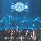 Five Man Acoustical Jam by Tesla (CD, Nov-1990, Geffen)