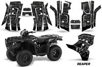 Amr Racing Honda Foreman Graphics Sticker Quad Kit 2015 Atv Decal Reaper Black