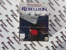 STAR WARS REBELLION - PC - BIG BOX EdIZIONE CARTONATA ITALIANA - NUOVO SIGILLATO