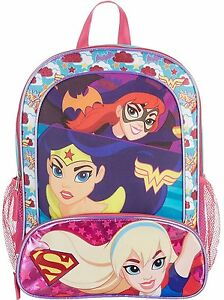 DC Comics Super Girls Backpack 16