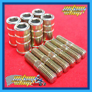 GO-KART-M8-EXTENDED-WHEEL-NUTS-STUDS-or-COMBO-PACKS-OF-SIX-THREE-CHOICES
