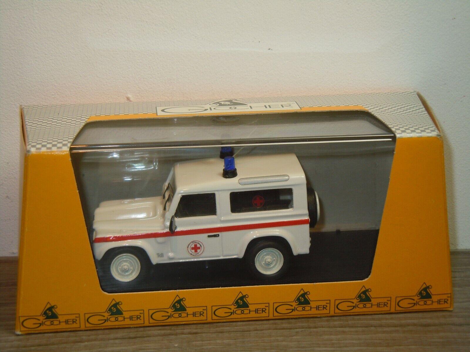 Land Rover Defender Croce Rossa - Giocher 1 43 in Box 36681